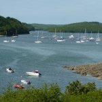 up the helford river in may