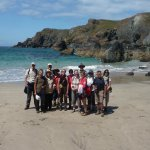 kynance cove walkers